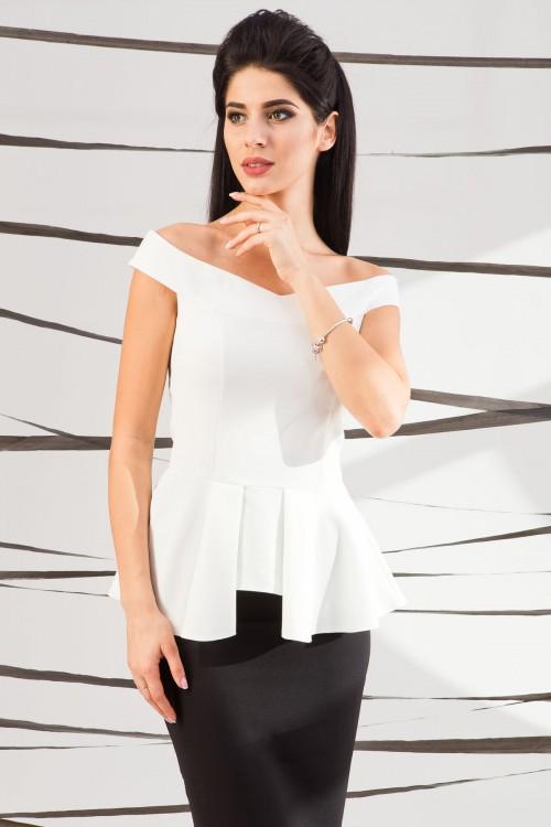 Блуза 01-35 белый