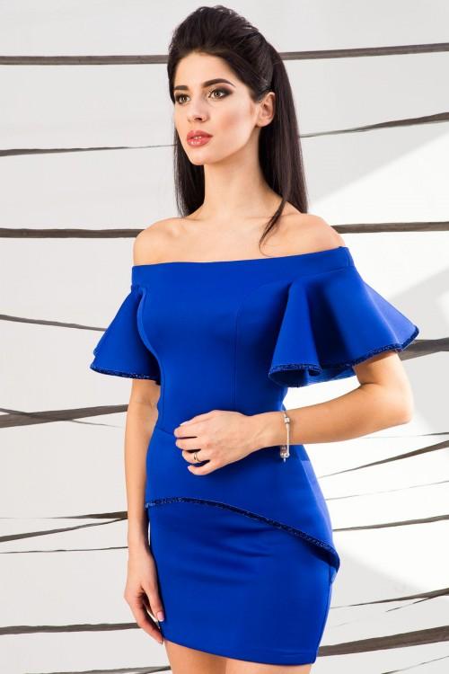 Платье 01-44 электрик