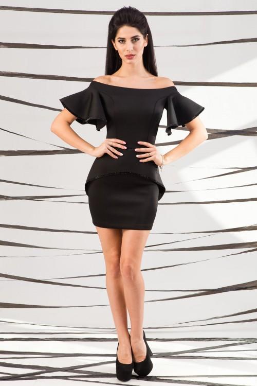 Платье 01-44 черный