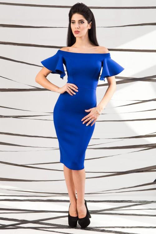 Платье 01-43 электрик