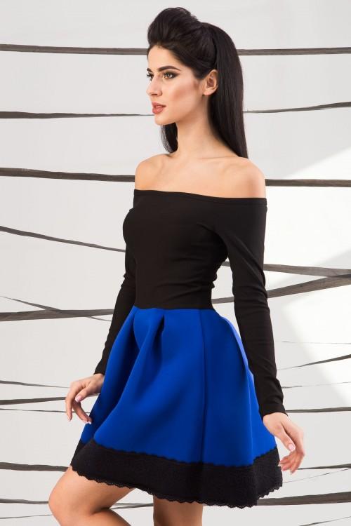 Платье 01-37 электрик