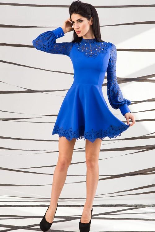 Платье 01-45 электрик