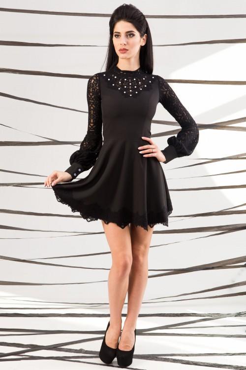 Платье 01-45 черный