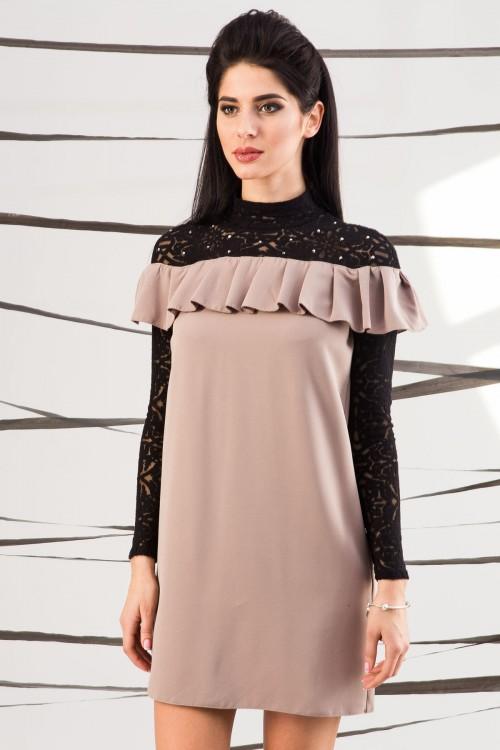 Платье 01-41 беж