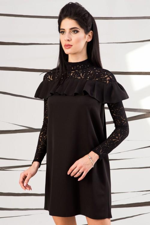 Платье 01-41 черный