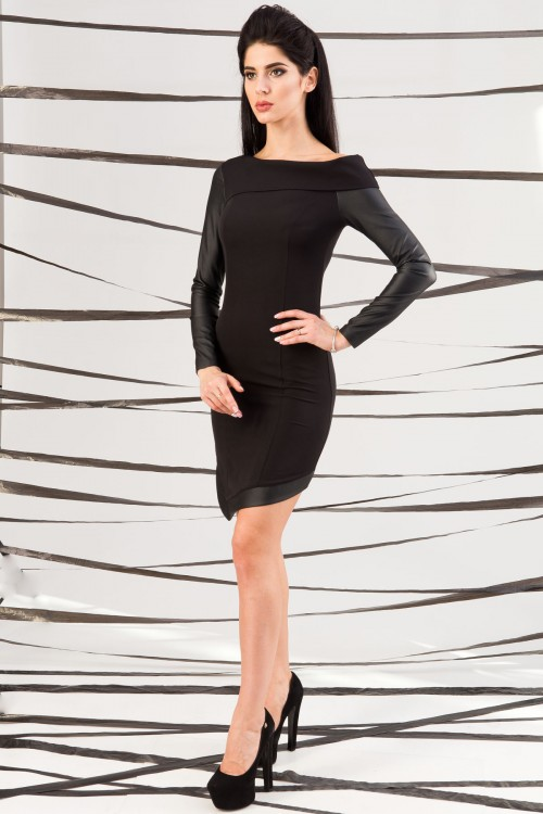 Платье 01-39 черный