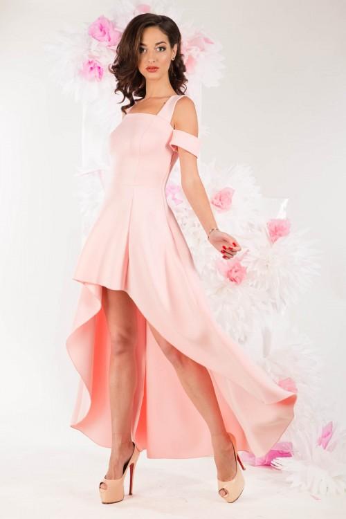 Платье 3278 персиковое