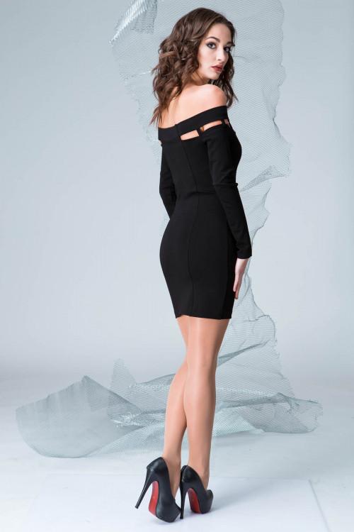 Платье 3329 черный
