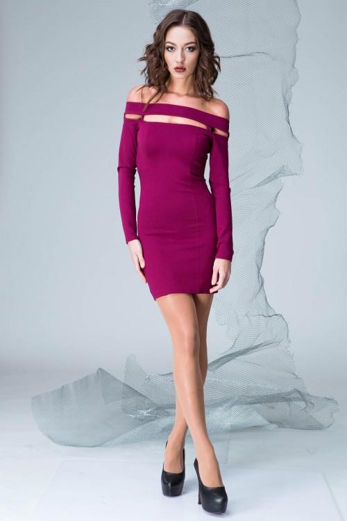Платье 3329 марсал