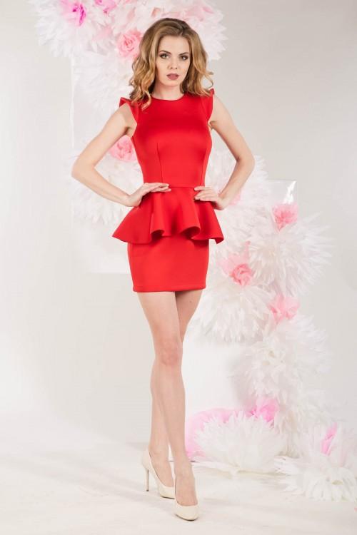 Платье 3274 красное