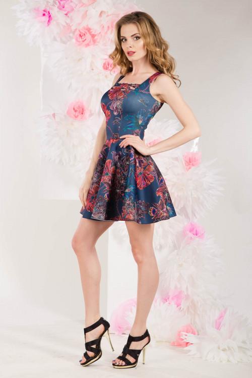 Платье 3276 лилии