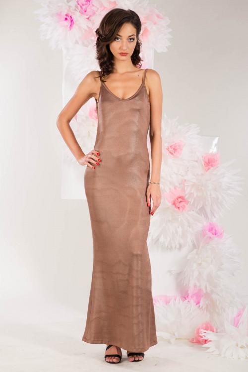 Платье 3280 бежевое