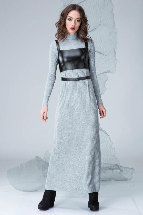 Платье 3325 серый