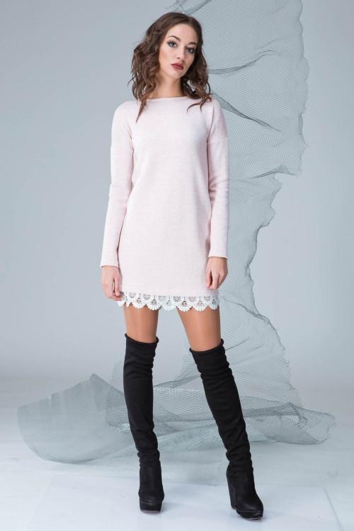 Платье 3315 персик