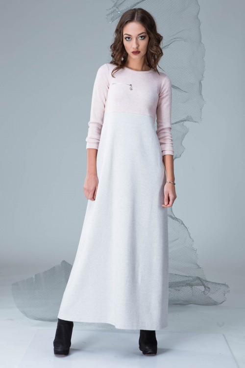 Платье 3314 персик