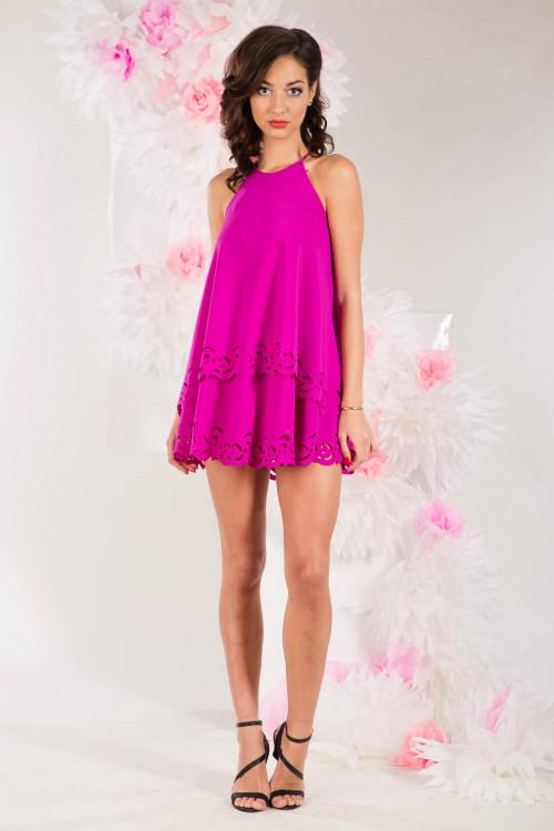 Платье 3279 фуксия