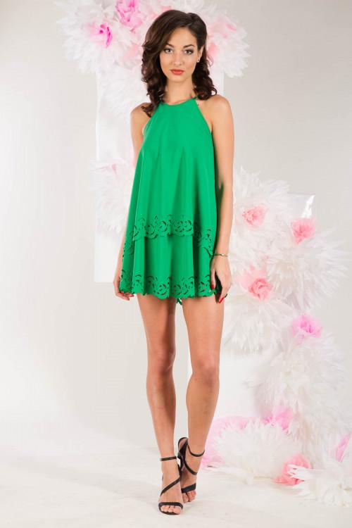 Платье 3279 зеленое