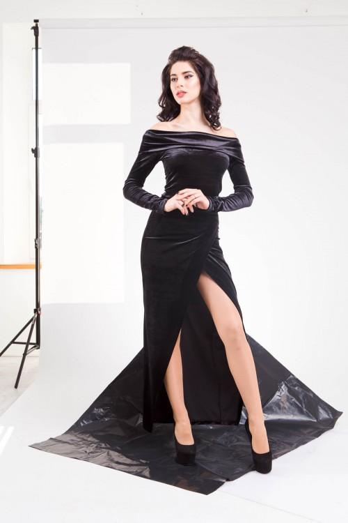 Платье 01-53 черный