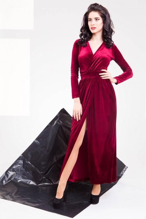 Платье 01-60 красный
