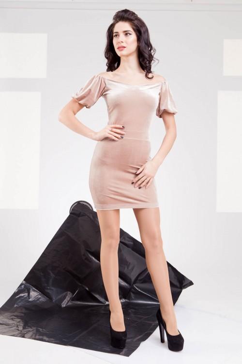Платье 01-56 беж