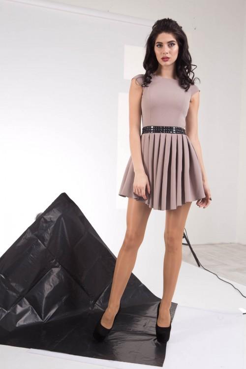 Платье 01-46 беж