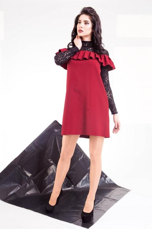 Платье 01-41 марсал