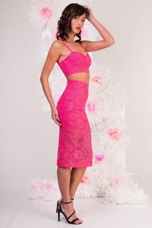 костюм 5019 розовый