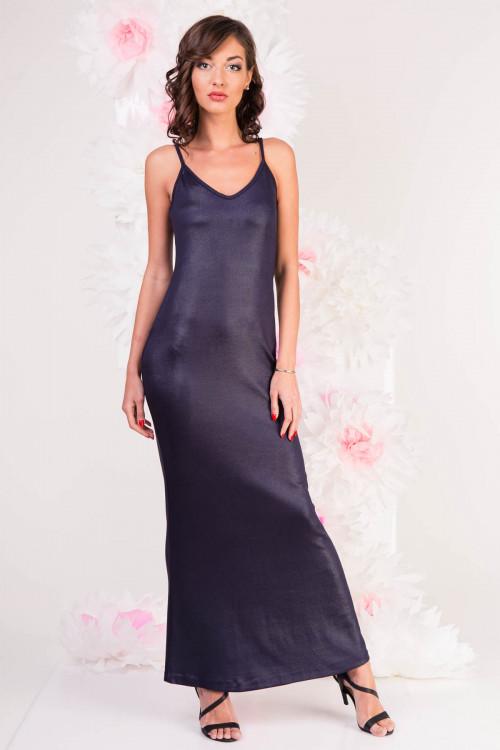 Платье 3280 темно-синее