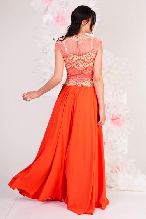 костюм 5018 оранжевый