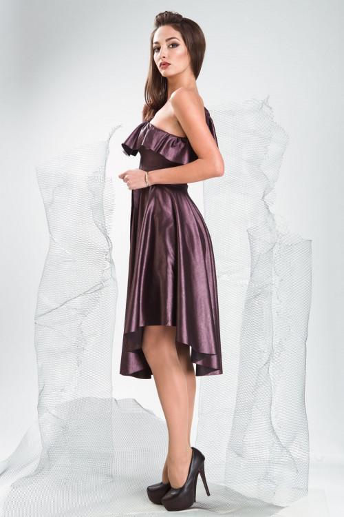 Платье 3333 баклажан