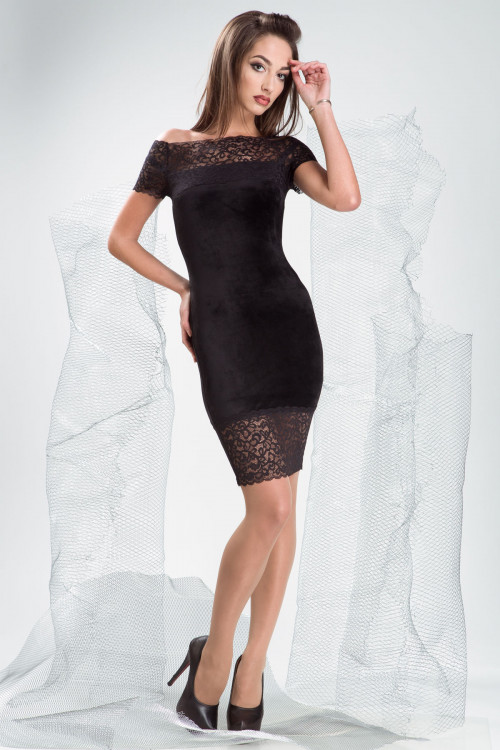 Платье 3334 черный