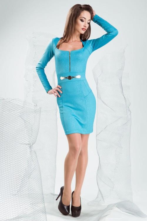 Платье 3191 бирюза