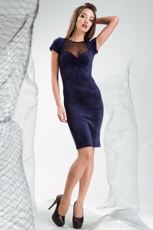 Платье 3335 синий