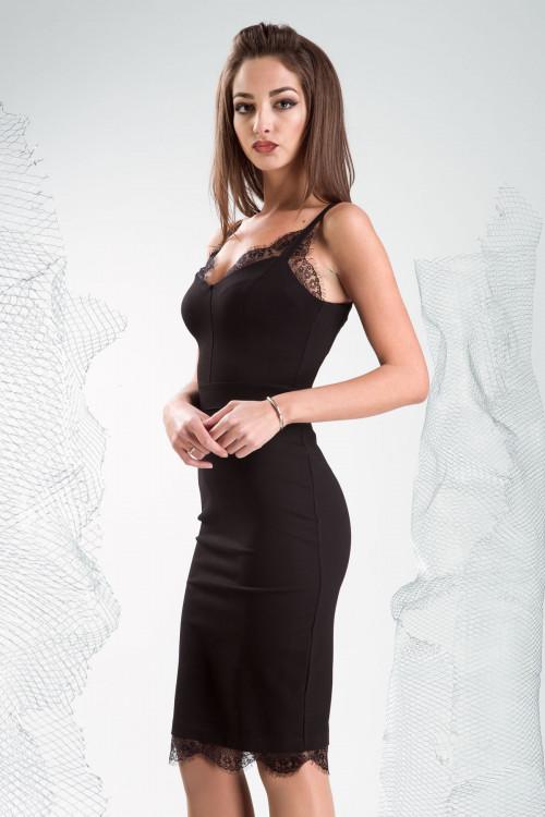 Платье 3337 черный