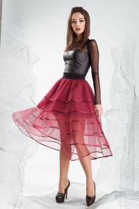 Юбки из фатина: стильные и женственные