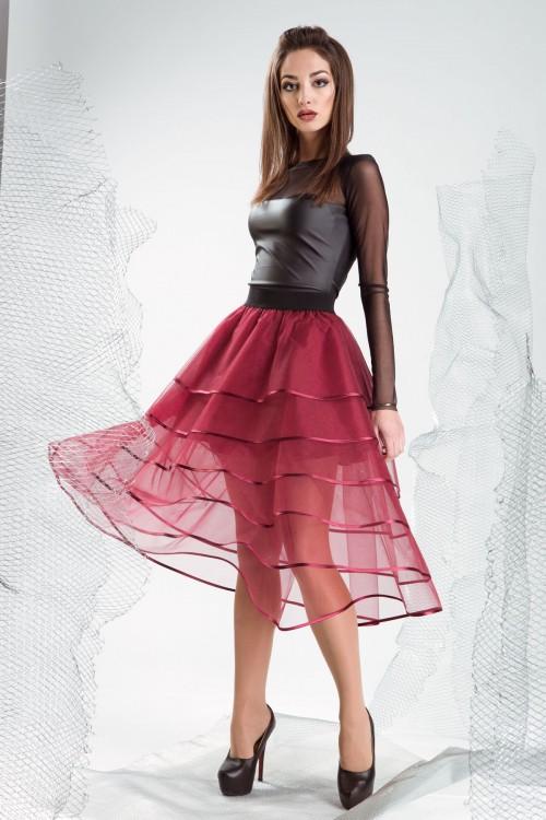 Купить юбку женскую из фатина