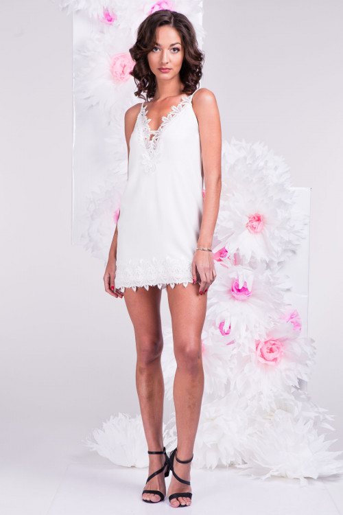 Платье 3288 молочное