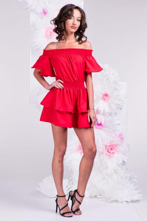 Платье 3289 красное