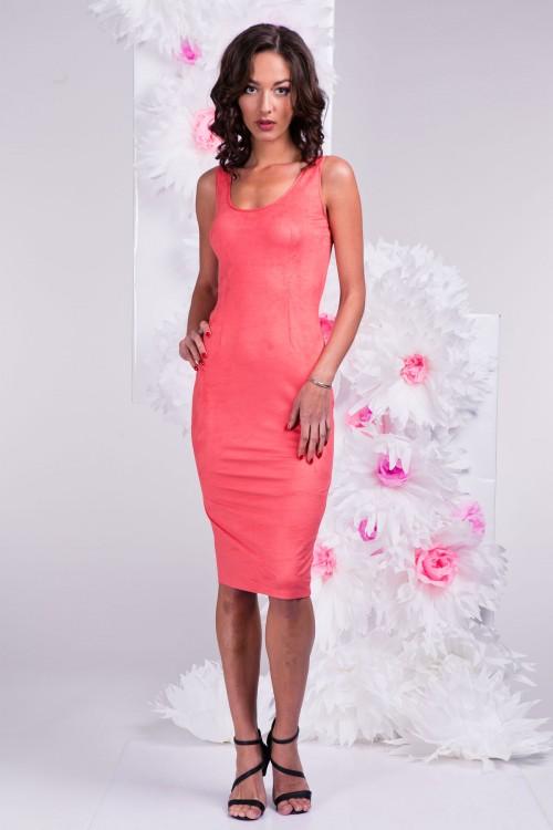 Платье 3291 коралловое