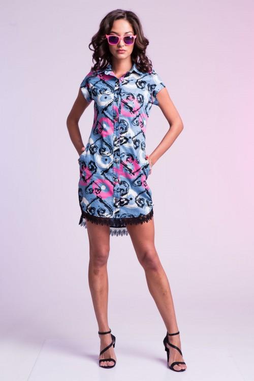 Платье-рубашка  95-01