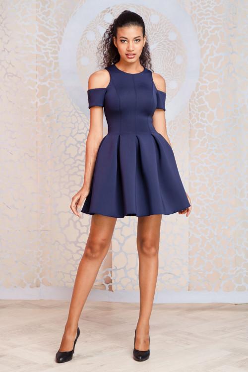Платье 3306 синий