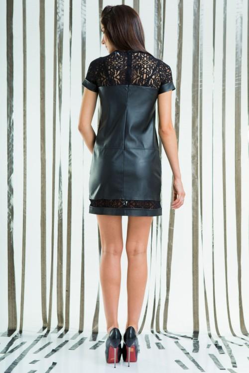 Платье 64-02 черный