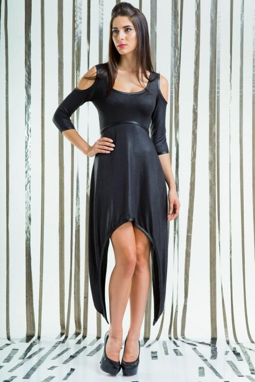 Платье 76-01 черный