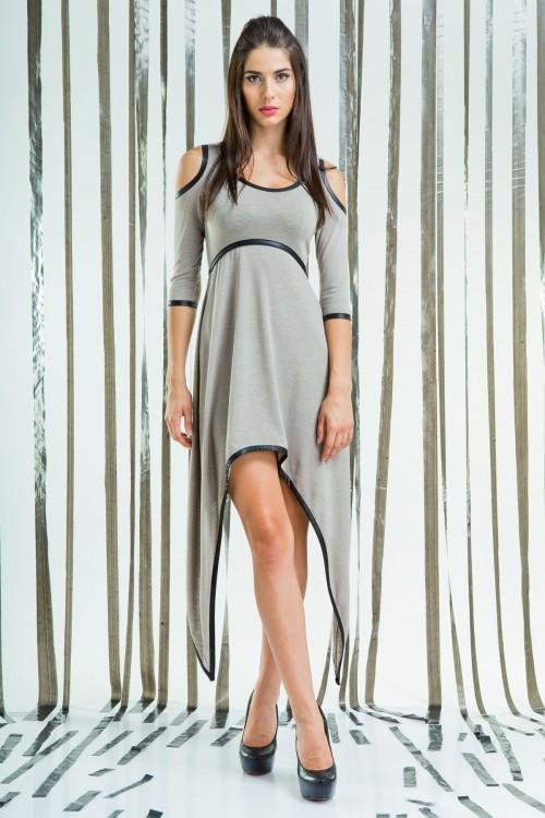 Платье 76-01 беж