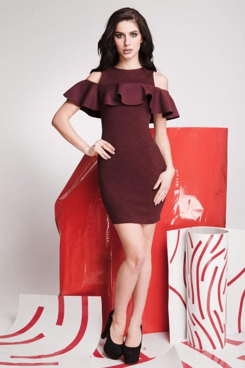Платье 01-74 марсал