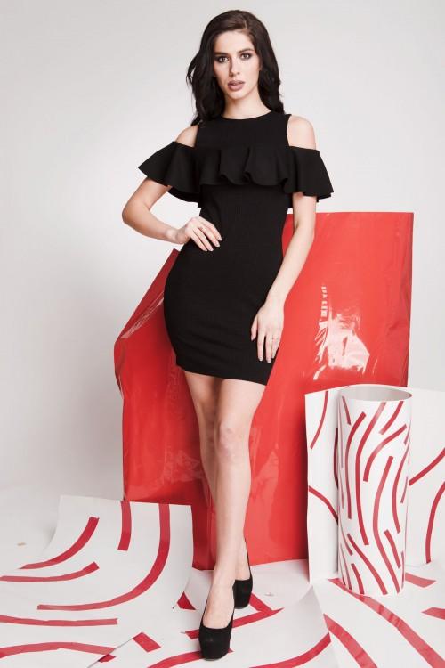 Платье 01-74 черный