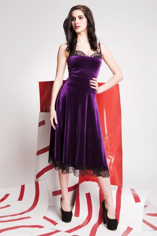 Платье 01-59 фиолетовый