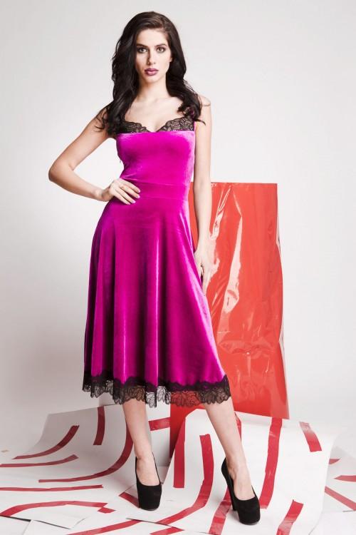 Платье 01-59 розовый