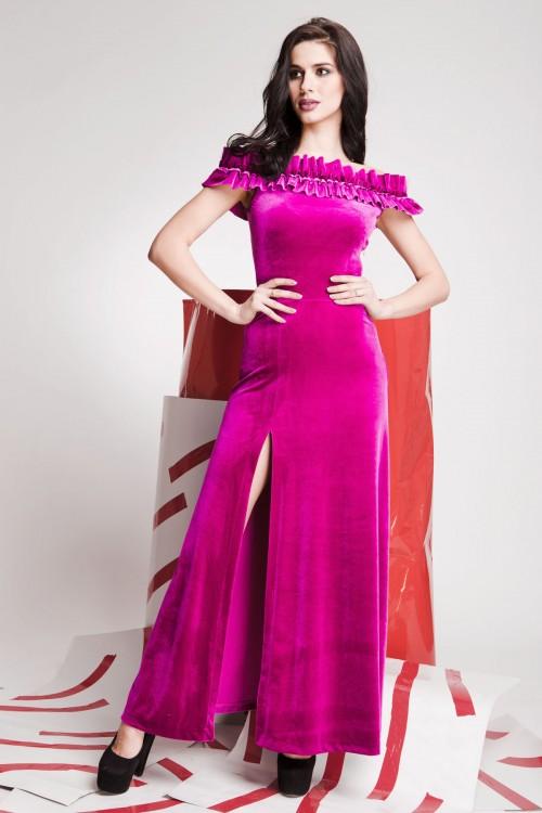 Платье 01-61 розовый