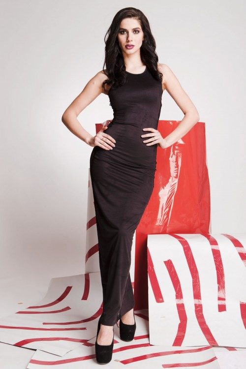 Платье 01-75 черный